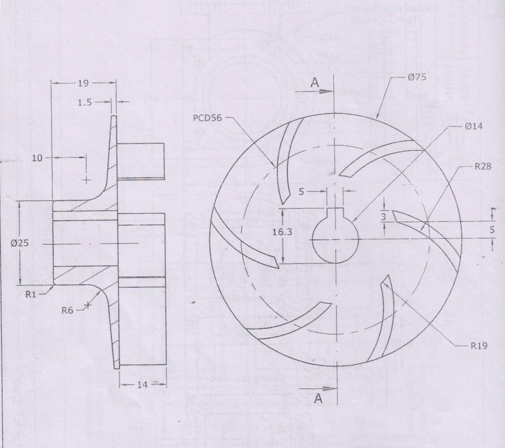 Design Of Impeller For Centrifugal Pump Grabcad Tutorials
