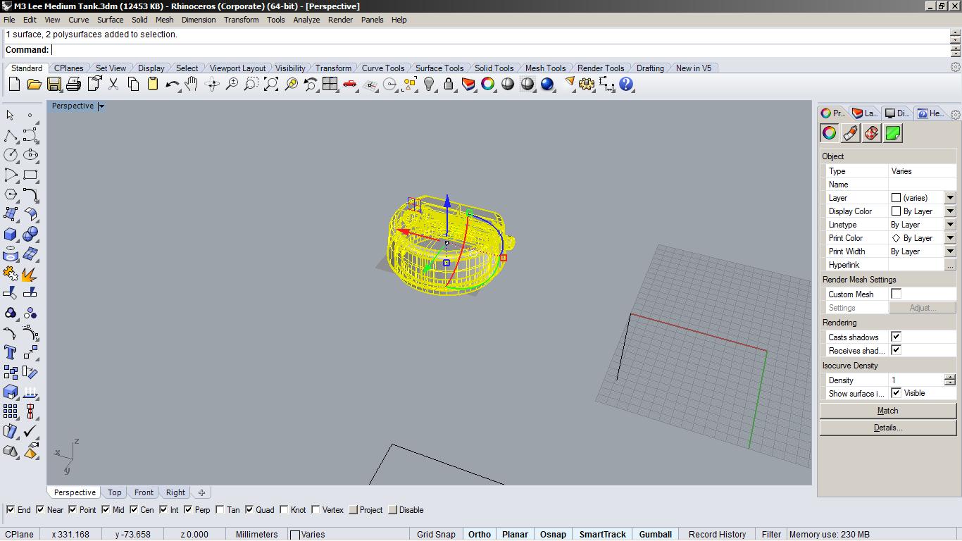 Bad surface/ Surface bug? | Rhino 3D | GrabCAD Groups