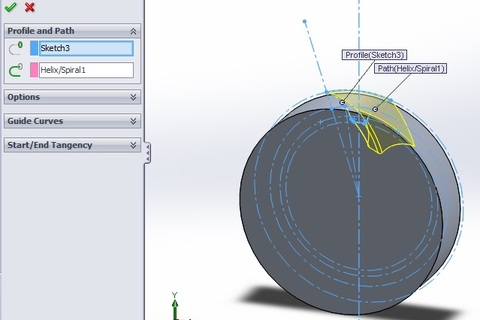 how to create a case from a part solidworks