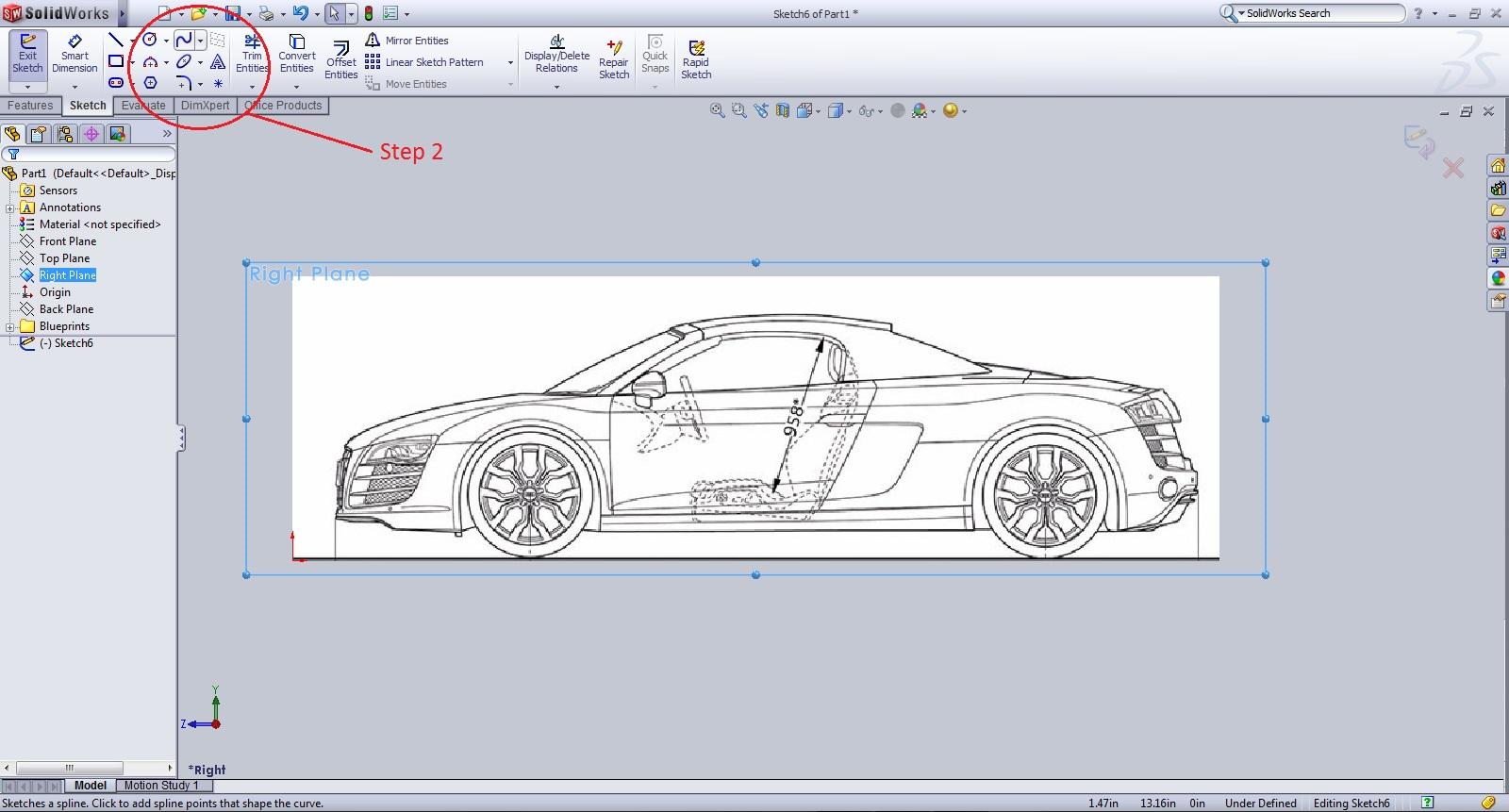 Tutorial making a 3d projected curve grabcad tutorials originalg1328062352 malvernweather Choice Image