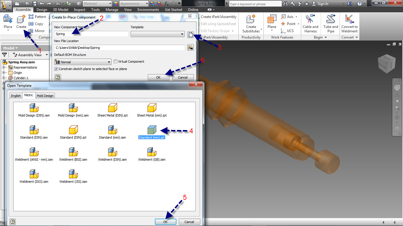 Tutorial: How to create adaptive springs in Autodesk