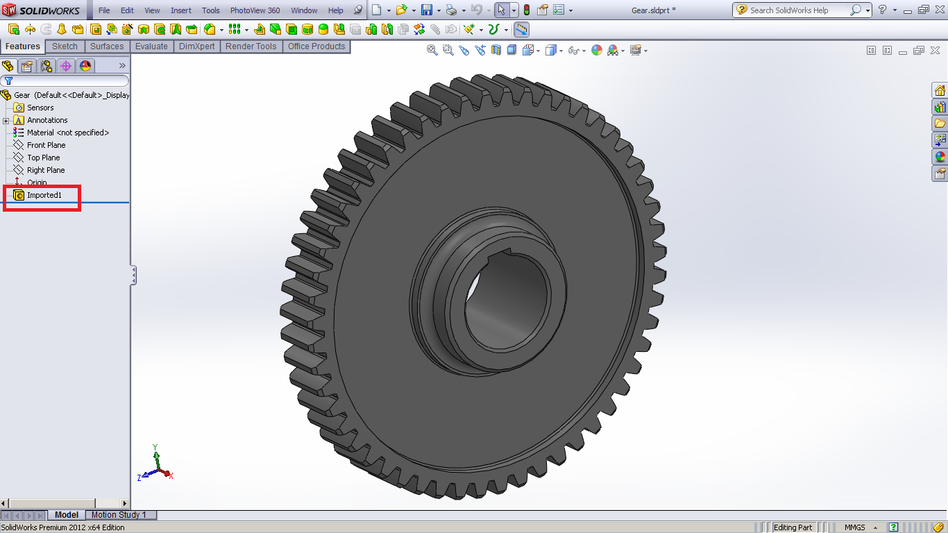 Tutorial : how to recognize Parasolid file in SolidWorks