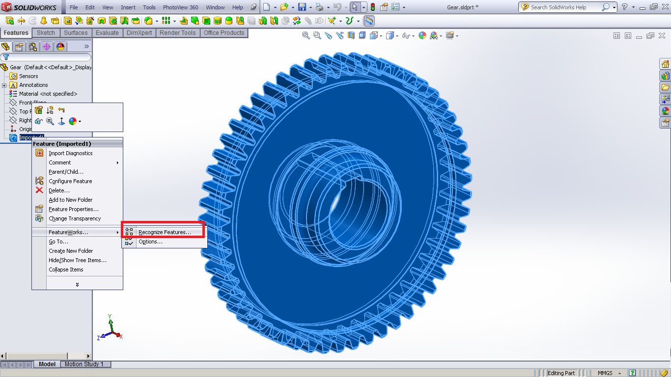 Tutorial : how to recognize Parasolid file in SolidWorks   GrabCAD