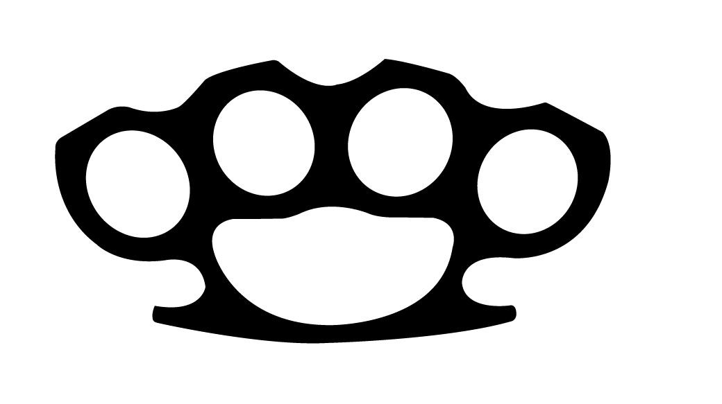 brass knuckles template tutorial for beginners how to make brass knuckles in