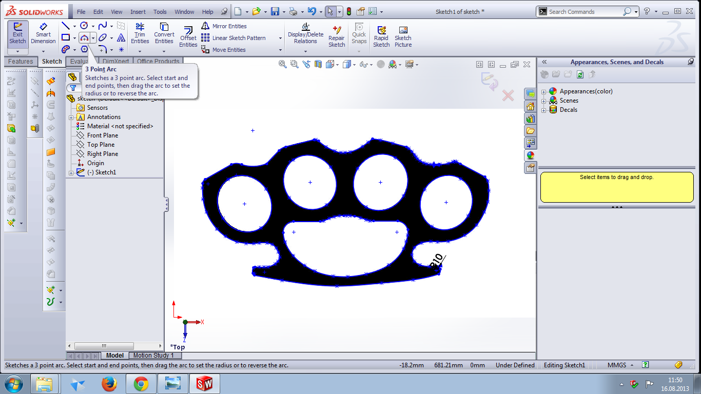 Tutorial for beginners: how to make brass knuckles in