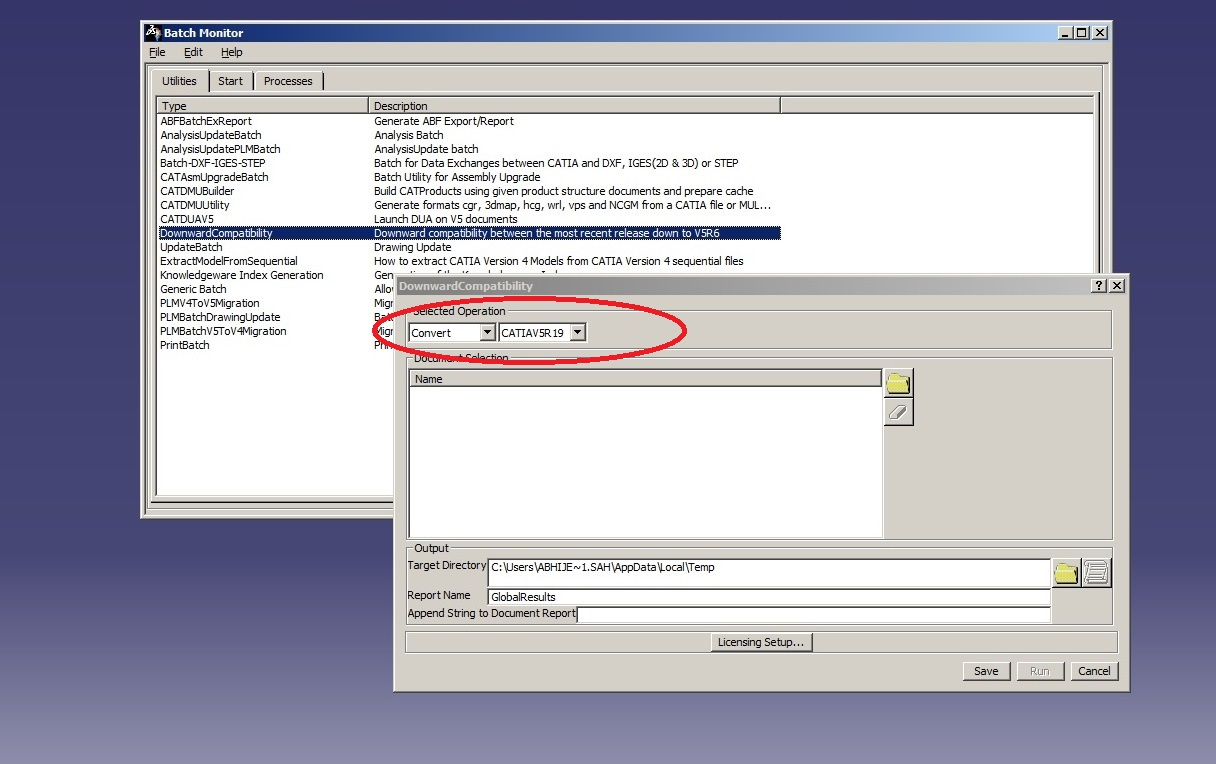 How do I convert CATIA V5 R21 files to V5 R20?   GrabCAD Tutorials