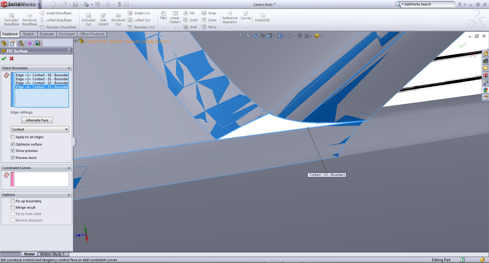 Tutorial: Filled Surfaces in Solidworks | GrabCAD Tutorials