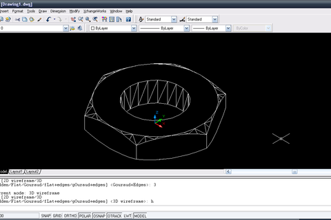how to delete a work space autocad 14