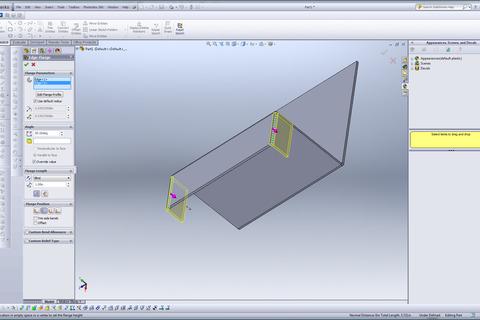 Model Sheet Metal In Solidworks Grabcad