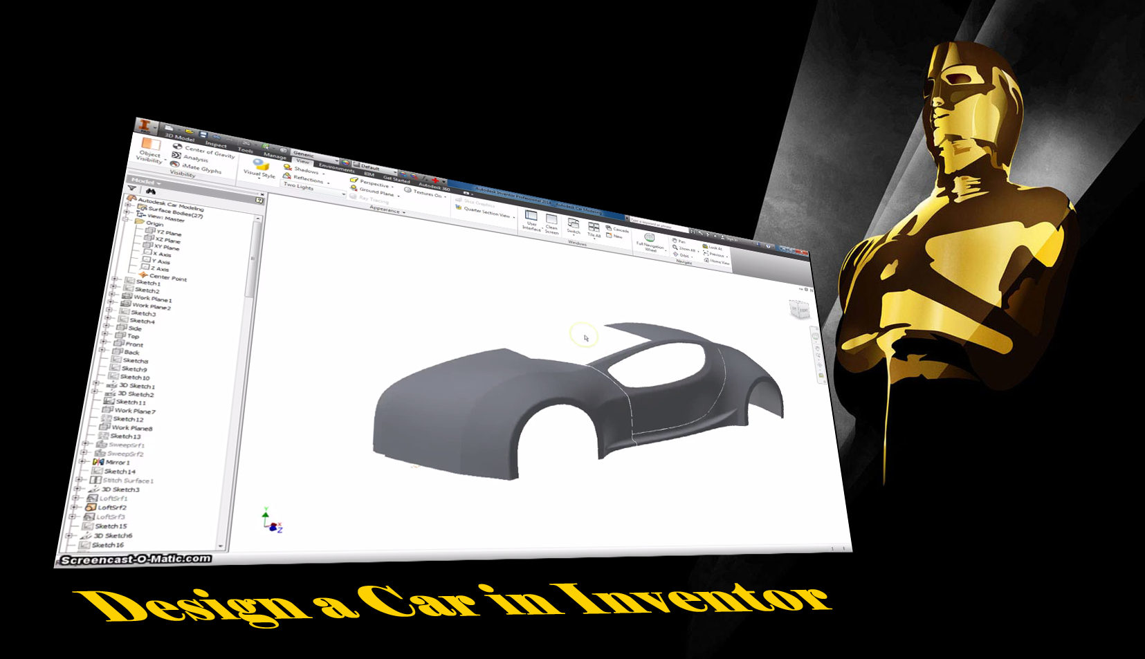 Tutorial: How to Design a Car in Inventor    I am so sick of
