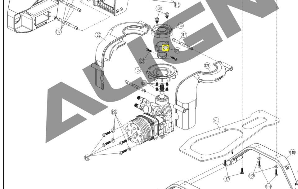 Where can I find some dimensions for RC Nitro Engines GrabCAD – Diagram Of An Rc Nitro Engine
