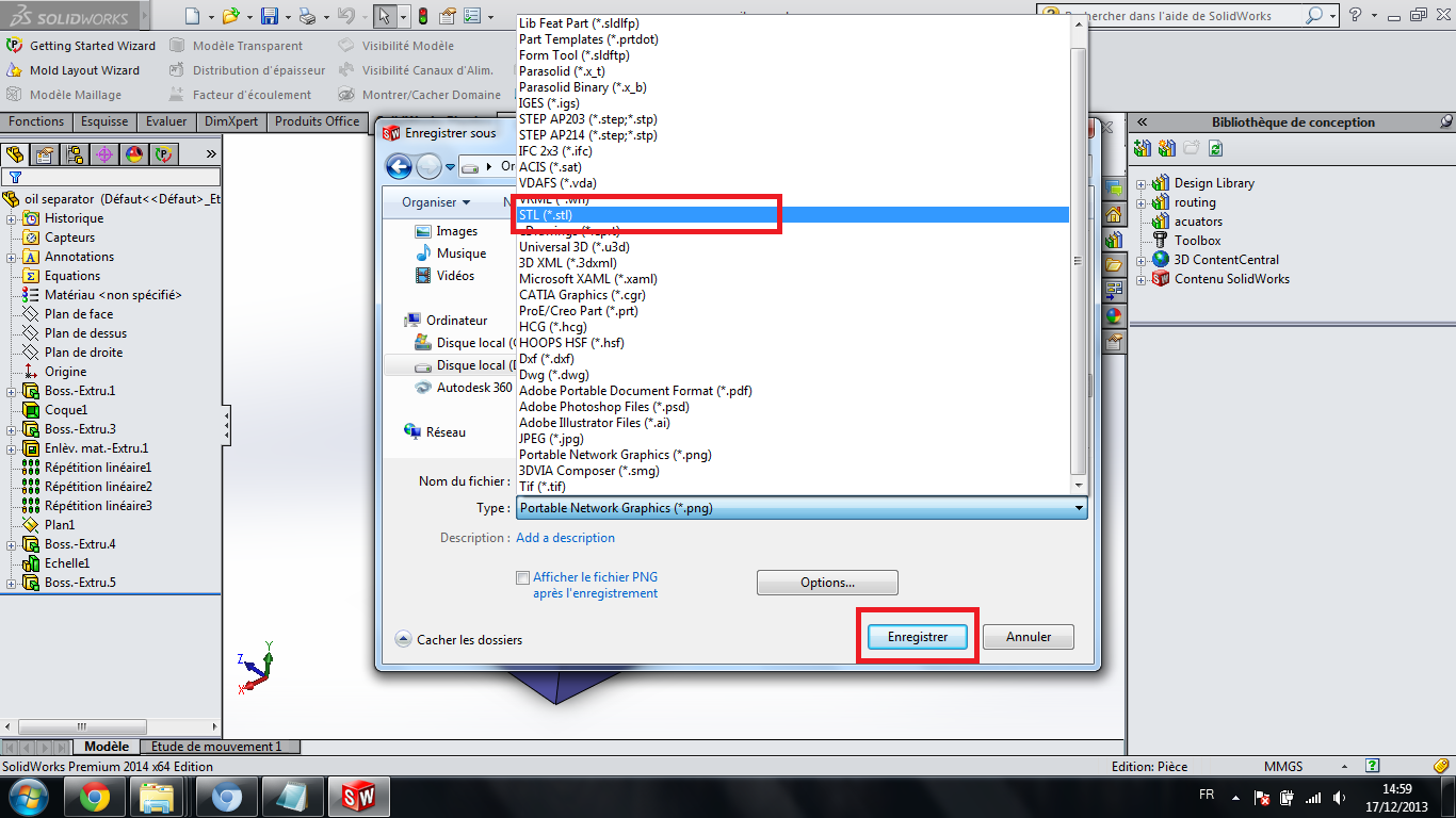how to convert solidworks file to obj ? | GrabCAD Tutorials