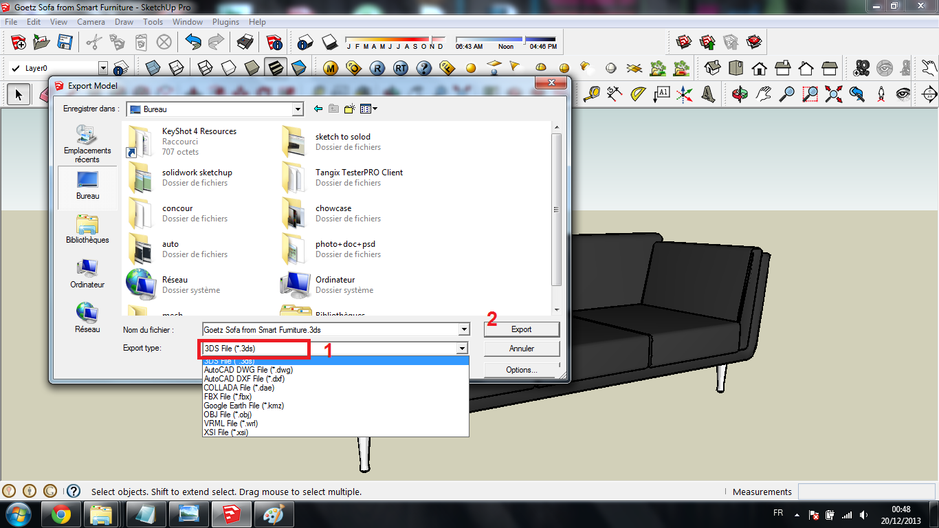 Tutorial : How to Import Sketchup files to SolidWorks