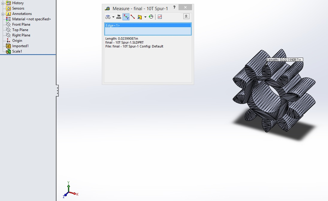 Tutorial: How to scale stl in solidworks? | GrabCAD Tutorials