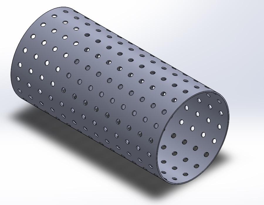 Tutorial: Request, Perforated tubing   GrabCAD Tutorials