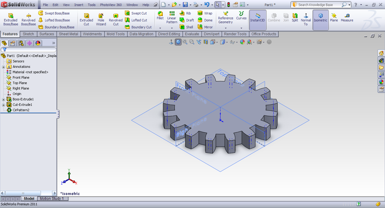 Tutorial - Creating Helical Gear in SolidWorks? | GrabCAD