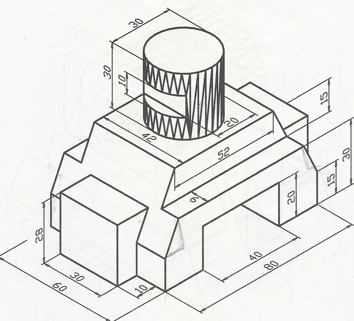 tutorial 14: 3D Engineering Drawing 3 (AUTO CAD