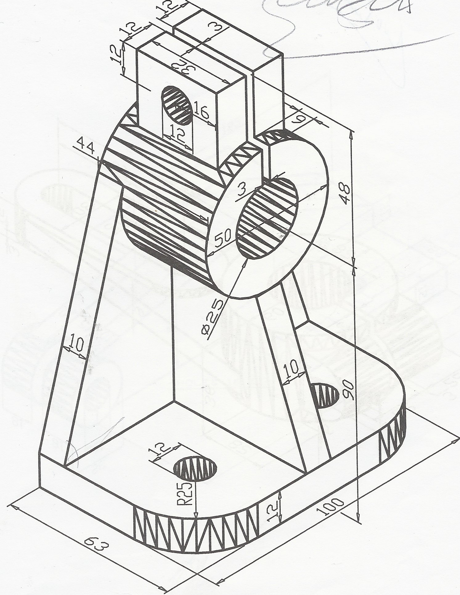 tutorial 15: 3D Engineering Drawing 2 (AUTO CAD