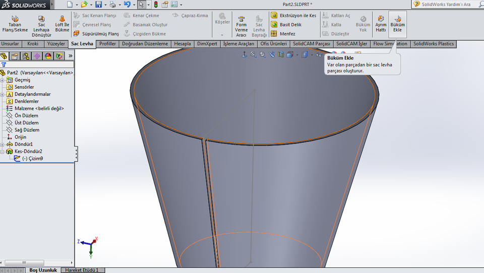 solidworks how to change factor of safter