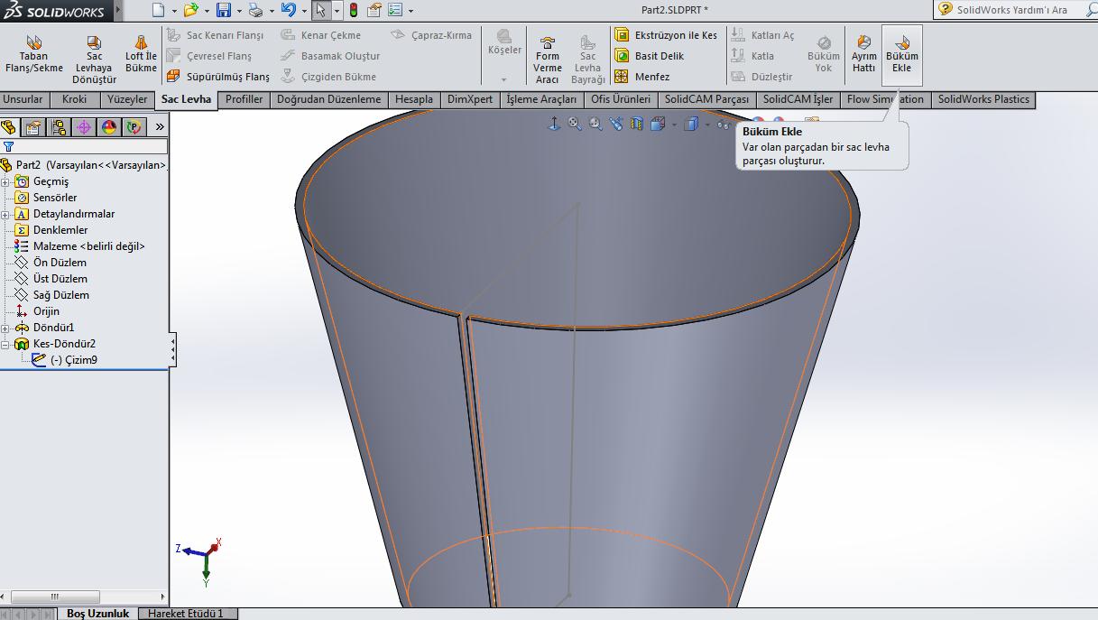 Noob Question How To Model A Jagged Cone Grabcad Tutorials
