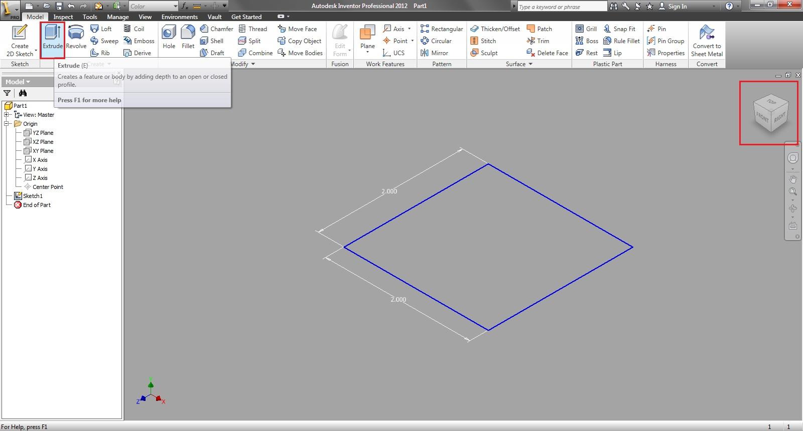 Tutorial Beginners Introduction To Autodesk Inventor