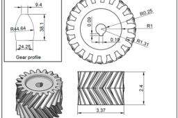 How to make herringbone gear in autocad | GrabCAD Tutorials