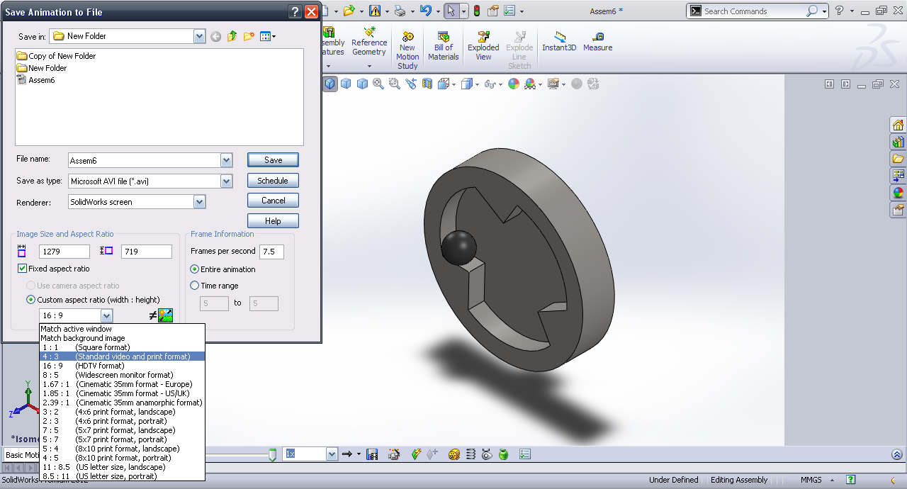 Tutorial - Basic motion in SolidWorks? - GrabCAD