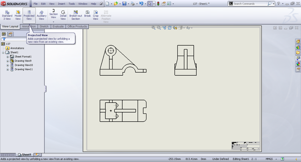 how to change view angle in solidworks animation