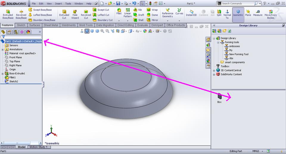 Tutorial Creating Forming Tool Sheet Metal In