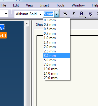 CATIA Drawing Text sizes in Inches? | GrabCAD Questions