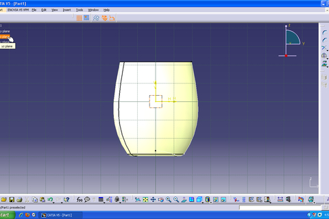 tutorial how to make a mug in catia v5 grabcad. Black Bedroom Furniture Sets. Home Design Ideas
