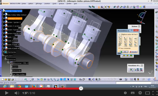 Any Overview Of Car Engine Animation In Assembly Design Of Catia V5