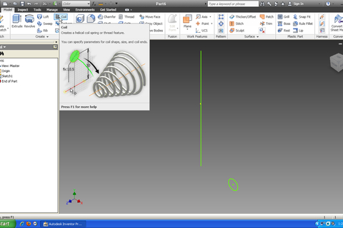 autodesk inventor how to change front face