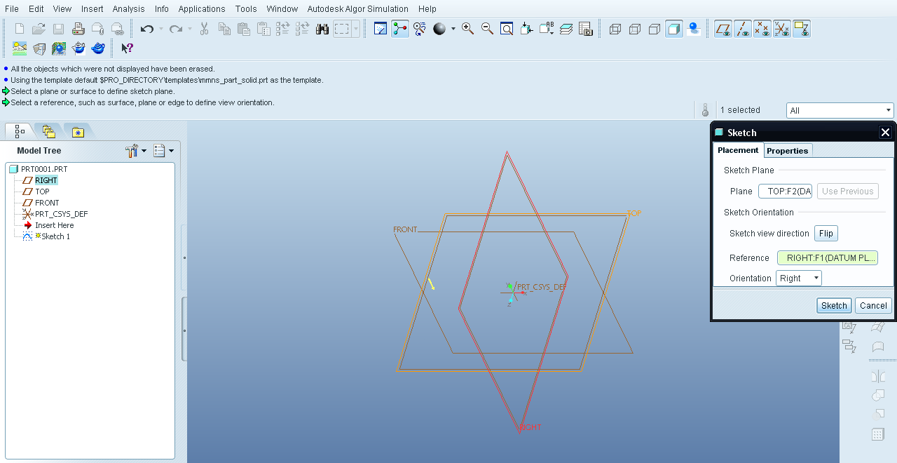 Tutorial - Relations in Pro Engineer Wildfire aka Creo Elements Pro ...
