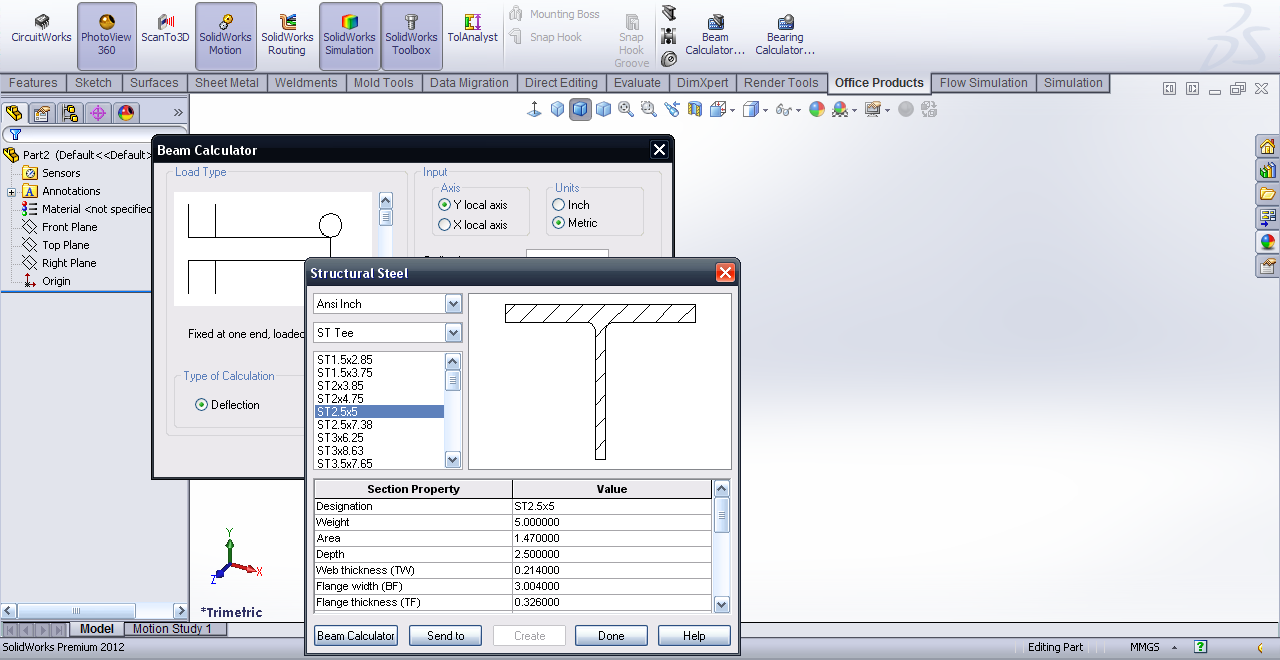 Tutorial - Beam calculator in SolidWorks? | GrabCAD Tutorials