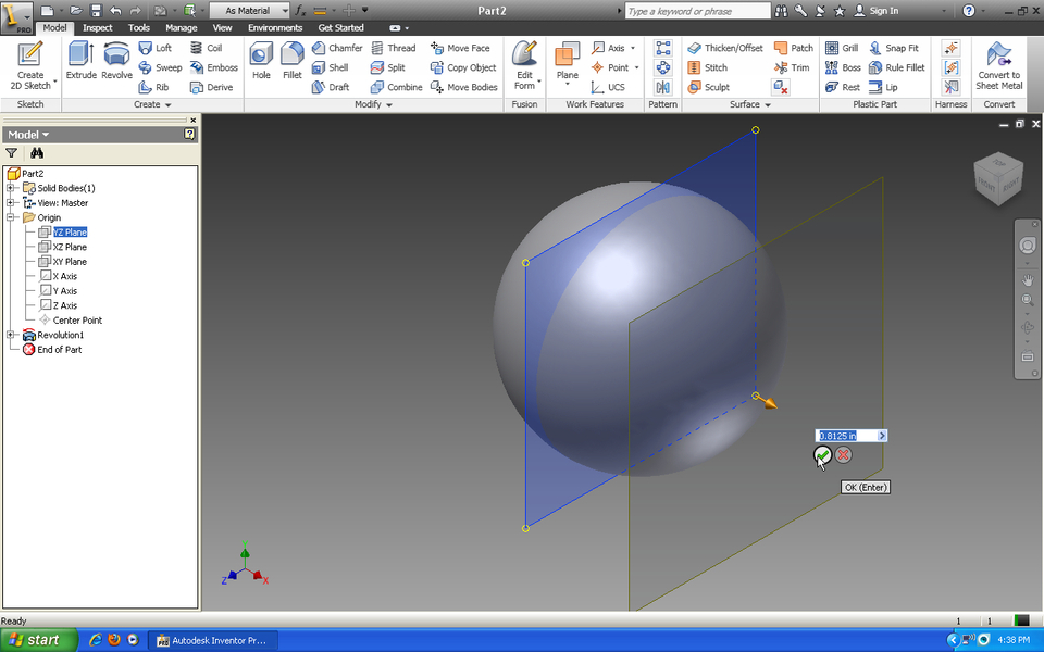 autodesk inventor plane tutorial with Tutorial How To Use Emboss Feature In Autodesk Inventor on Autodesk Inventor Tutorrial Work Planes together with Conic Curves Siemens Nx additionally Autodesk Inventor Beginners Tutorial Extruding A Simple Cube as well Download Autodesk Inventor Tutorials 421744 furthermore Glass Bracket Part 1 Body Part Seri Tutorial Autodesk Inventor.