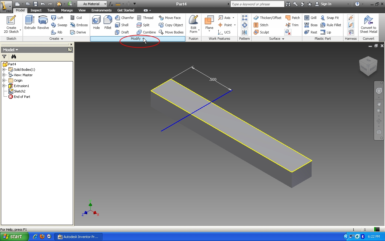 Tutorial How To Use Bend Part Feature In Autodesk