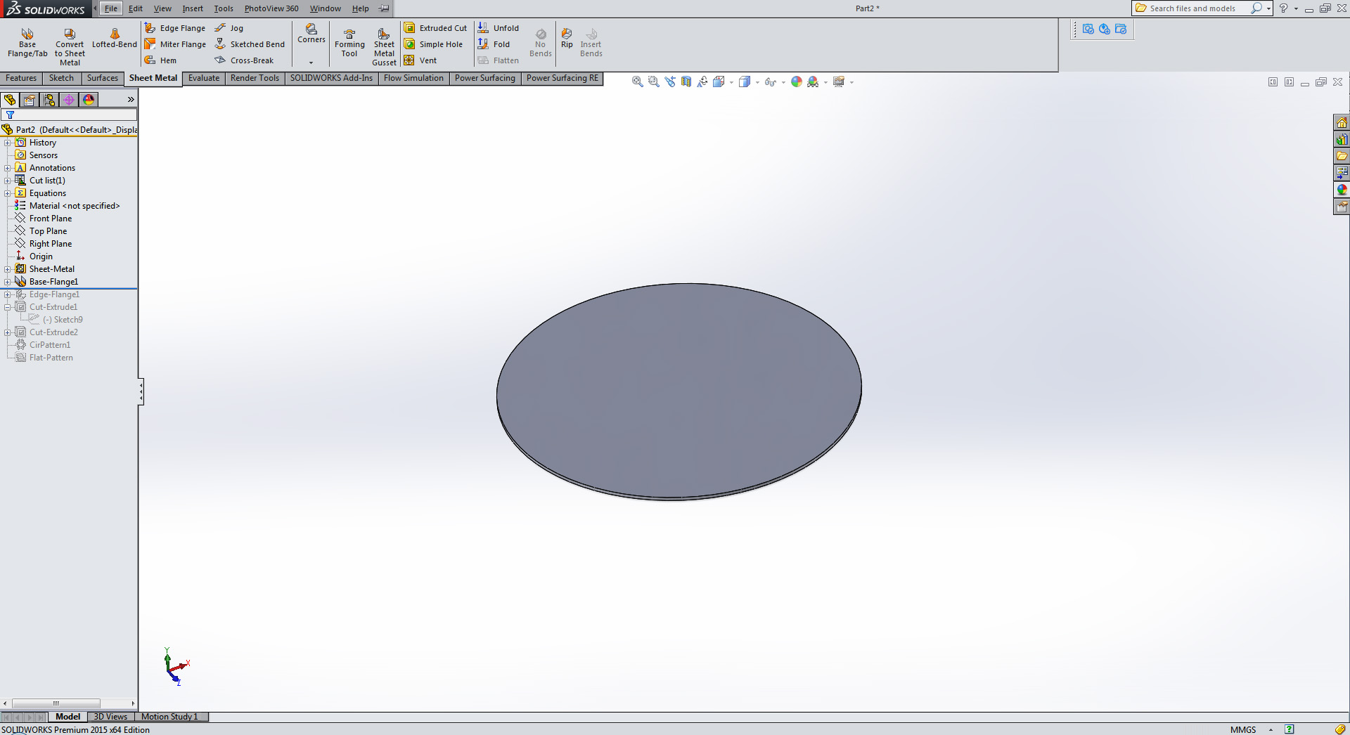 How does one make a rounded type bend using solidworks