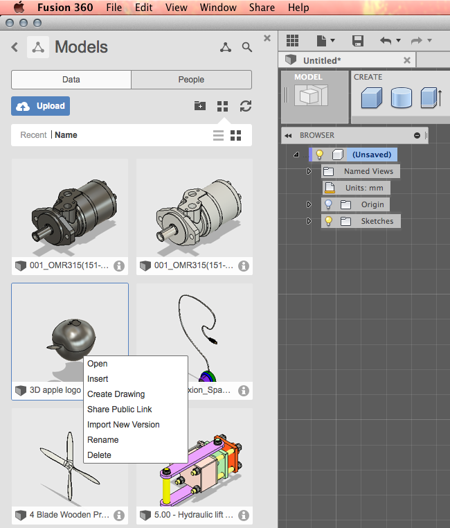 How to import the model to Fusion 360? | GrabCAD Tutorials