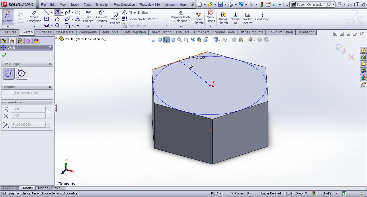 Tutorial Modeling Ring Collar Nut In Solidworks Grabcad Tutorials