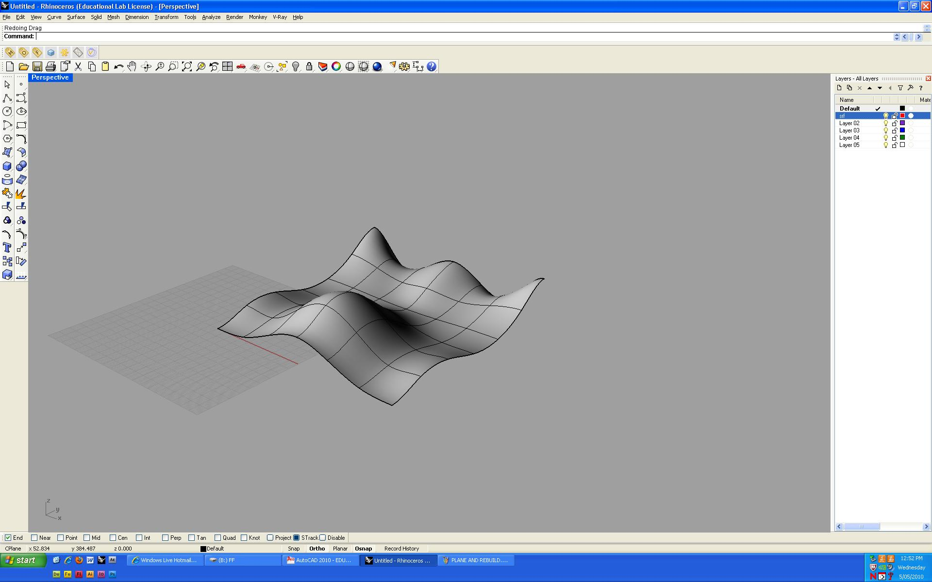 How to create Wavy Surface with Solidworks? | GrabCAD Questions