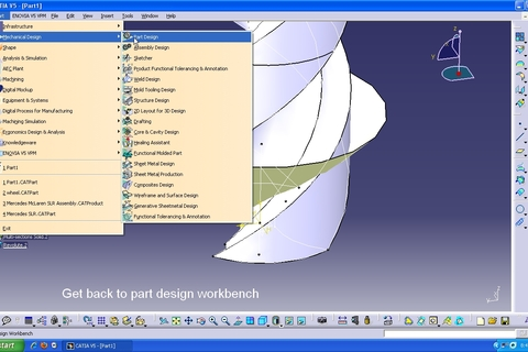 tutorial how to model a drillbit in catia v5 grabcad. Black Bedroom Furniture Sets. Home Design Ideas