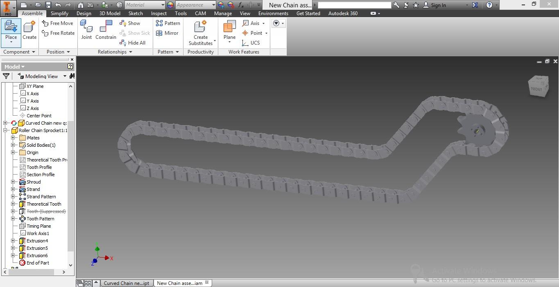 Tremendous Inventor Chain Tutorial Download Free Architecture Designs Lukepmadebymaigaardcom