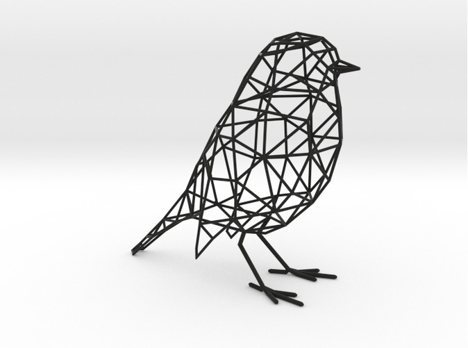 HELP] How to turn 3D model into low poly wire frame