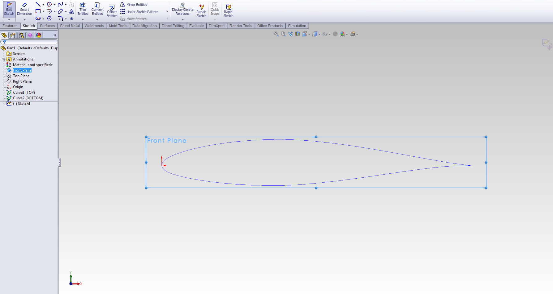 How to create accurate model of an Airfoil? -SW- | GrabCAD