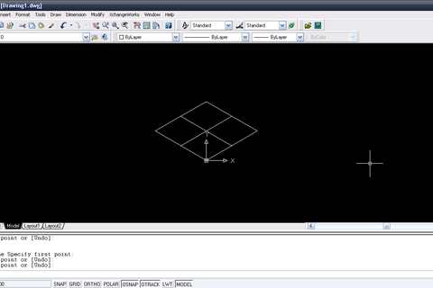 how to draw isometric circle in autocad