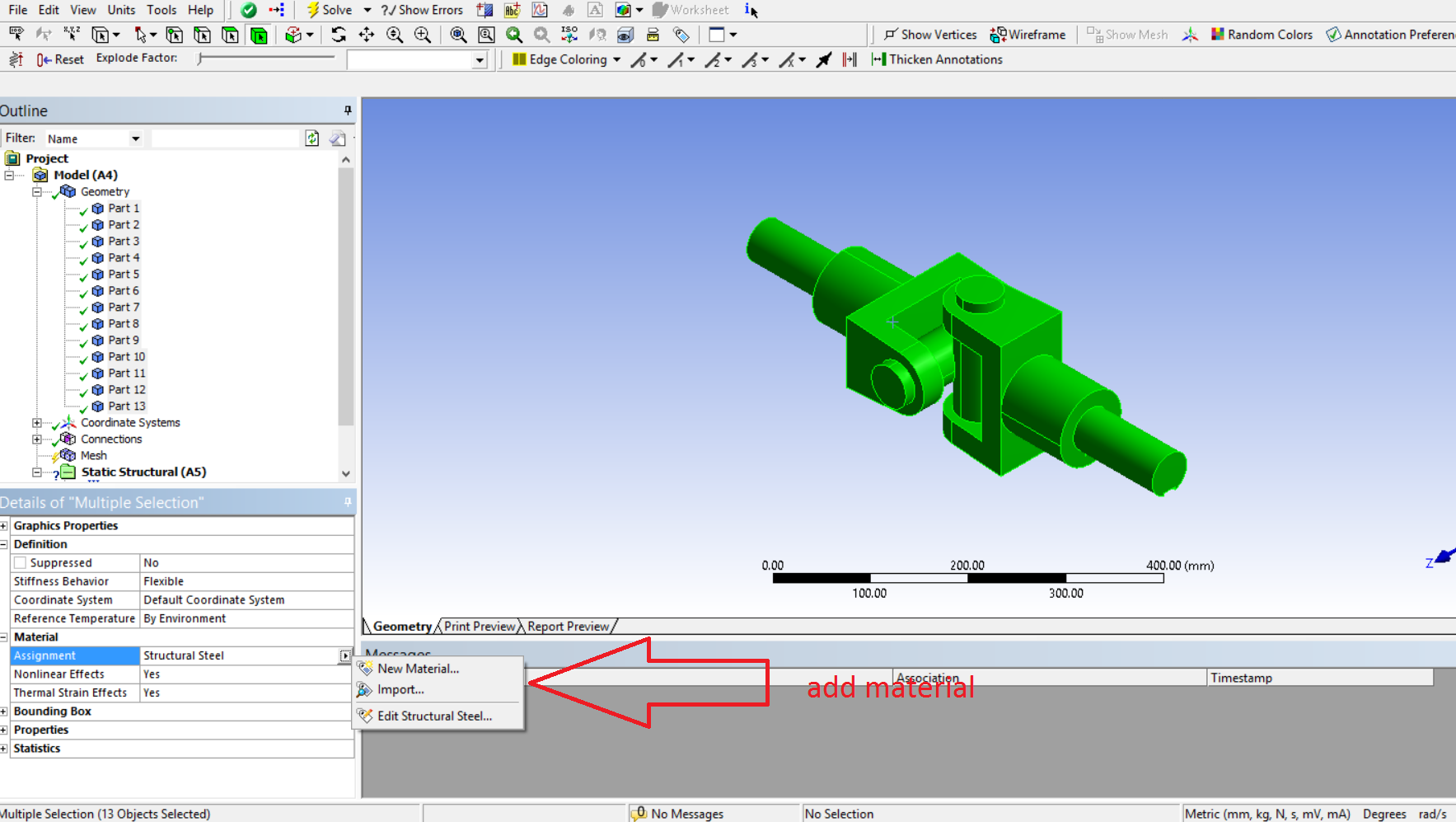 How to do analysis of universal coupling using ansys | GrabCAD Tutorials