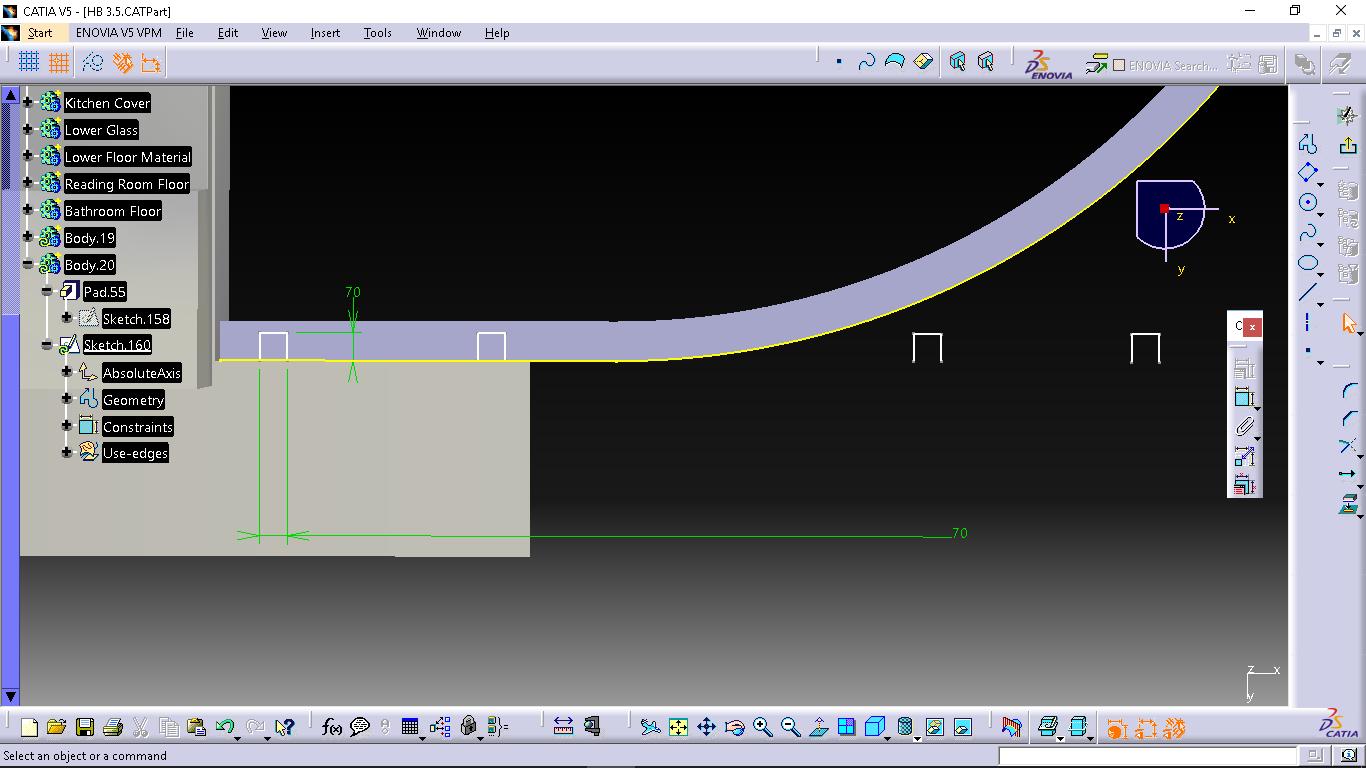 how to copy translate a pattern along a curve in catia grabcad rh grabcad com Catia Design Catia Tutorial