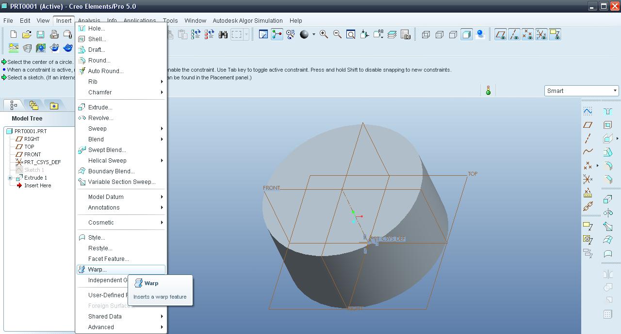 Tutorial - Transform feature in Creo Elements aka Pro/E? | GrabCAD