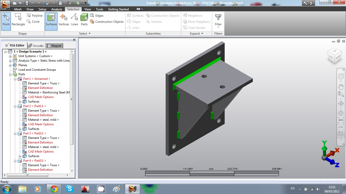 Tutorial autodesk algor simulation (parte 2) youtube.